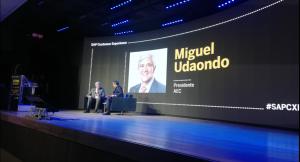 Miguel Udaondo apoyo institucional en SAP
