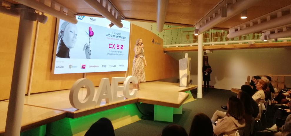 Beatriz López en el II Congreso AEC Open Experience