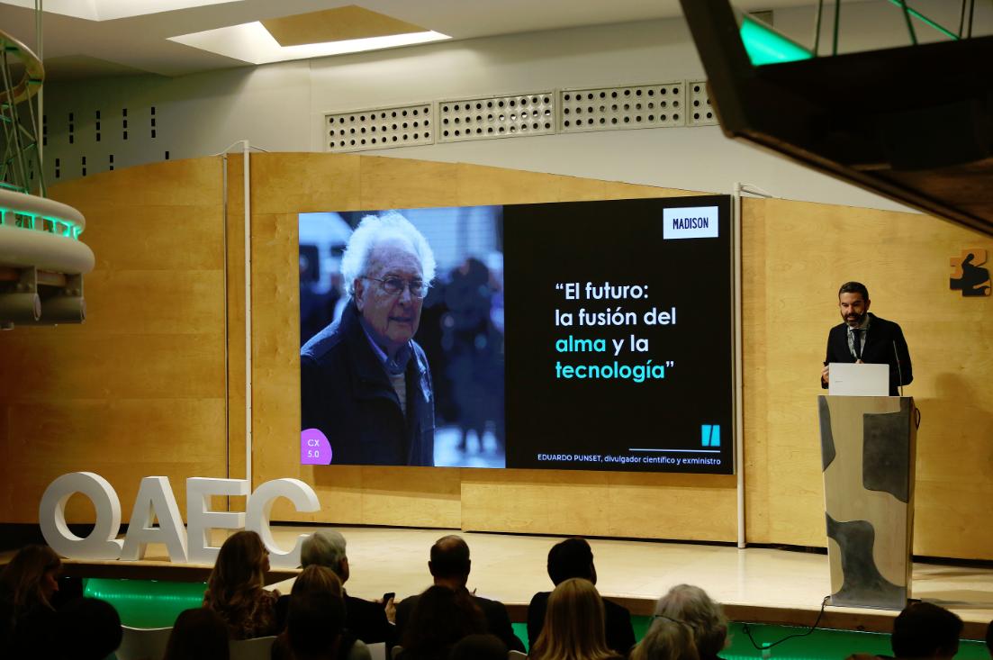 Jose Luis Delmas en AEC Open Experience